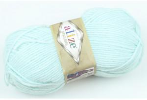 Пряжа Alize Alpaca Royal, #522, небесно-голубая