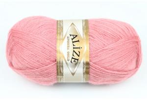 Пряжа Alize Angora Gold, #144, розово-лиловая