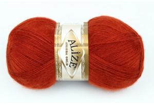 Пряжа Alize Angora Gold, #36, рыжая