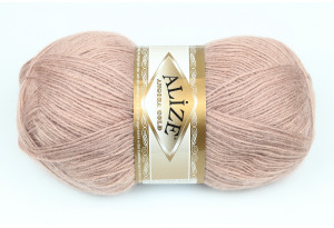 Пряжа Alize Angora Gold, #542, карамельная