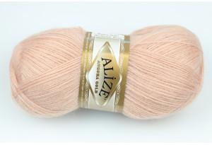 Пряжа Alize Angora Gold, #404, пастельно-розовая