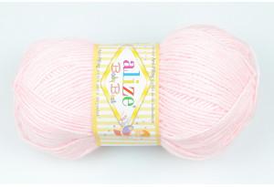 Пряжа Alize Baby Best, #184, нежно-розовая
