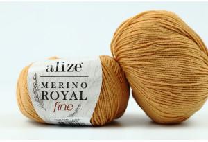 Пряжа Alize Merino Royal Fine, #97, карамельная