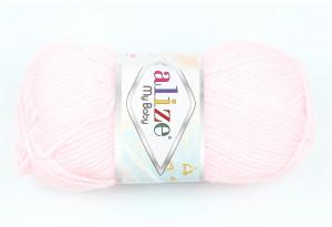 Пряжа Alize My Baby, #184, нежно-розовая