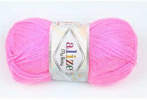 Пряжа Alize My Baby, #157, ярко-розовая
