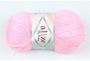 Пряжа Alize My Baby, #185, розовая