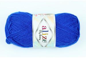 Пряжа Alize My Baby, #141, синяя