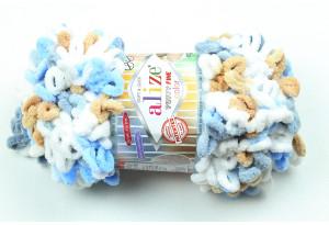 Пряжа Alize Puffy Fine Color, #5946