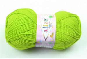 Пряжа Alize Sekerim Baby, #117, ярко-зеленая