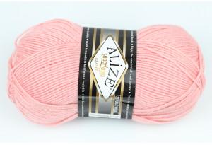 Пряжа Alize SuperLana Klassik, #363, розово-персиковая