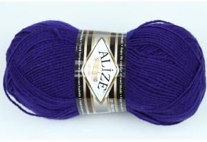 Пряжа Alize SuperLana Klassik, #388, фиолетово-синяя