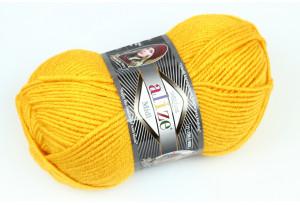 Пряжа Alize SuperLana Midi, #488, золотая