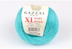 Пряжа Gazzal Baby Wool XL, #832, морская волна