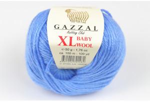 Пряжа Gazzal Baby Wool XL, #817, светло-синяя