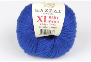 Пряжа Gazzal Baby Wool XL, #802, темно-синяя