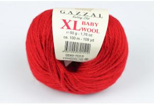 Пряжа Gazzal Baby Wool XL, #816, бургунди