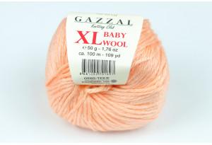 Пряжа Gazzal Baby Wool XL, #834, персиковая