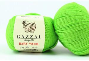 Пряжа Gazzal Baby Wool, #821, травяная