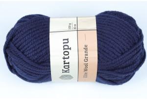 Пряжа Kartopu Elite Wool Grande, #630, сапфировая