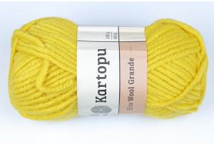 Пряжа Kartopu Elite Wool Grande, #1321, горчичная