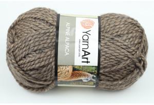 Пряжа YarnArt Alpine Alpaca, #438, коричневая