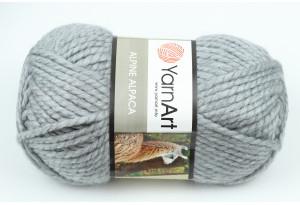 Пряжа YarnArt Alpine Alpaca, #447, серая