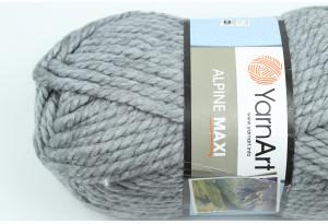 Пряжа YarnArt Alpine MAXI, #669, серая