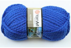 Пряжа YarnArt Alpine, #342, синяя