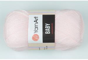 Пряжа YarnArt Baby, #853, нежно-розовая