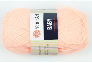 Пряжа YarnArt Baby, #204, розово-персиковая