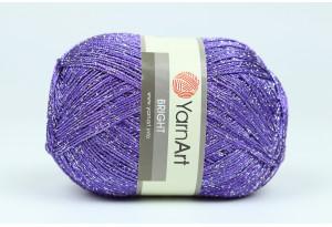 Пряжа YarnArt Bright, #201, фиолетовая