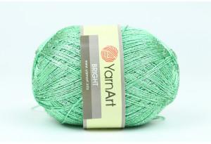 Пряжа YarnArt Bright, #239, ярко-зеленая