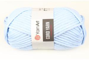Пряжа YarnArt Cord Yarn, #760, голубая