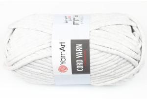 Пряжа YarnArt Cord Yarn, #756, белый меланж