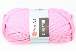 Пряжа YarnArt Cord Yarn, #762, розовая