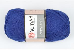Пряжа YarnArt Cotton Soft, #54, темно-синяя