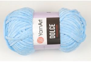 Пряжа YarnArt Dolce, #749, голубая