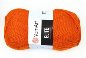 Пряжа YarnArt Elite, #847, охра
