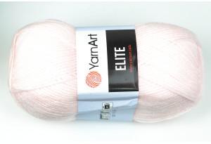 Пряжа YarnArt Elite, #853, нежно-розовая