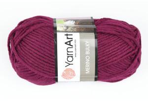 Пряжа YarnArt Merino Bulky, #10094, вишневая