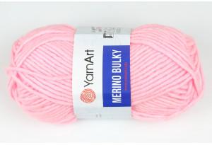 Пряжа YarnArt Merino Bulky, #217, светло-розовая