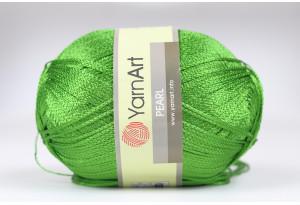 Пряжа YarnArt Pearl, #248, светло-зеленая