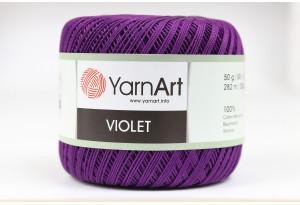 Пряжа YarnArt Violet, #5550, фиолетовая