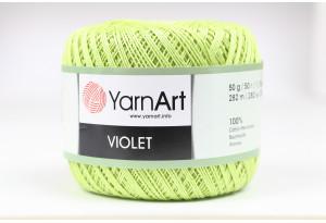 Пряжа YarnArt Violet, #5352, мятная
