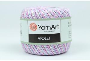 Пряжа YarnArt Violet Melange, #3053, сиреневая