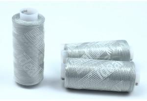 Нитки швейные IDEAL, №365, светло-серый