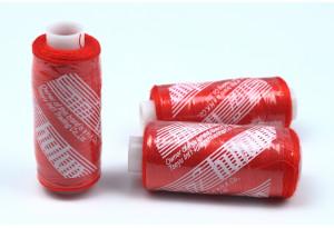 Нитки швейные IDEAL, №110, красные