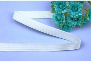 Резинка для одежды, 1.5 см, белая