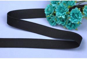 Резинка для одежды, 1.5 см, черная